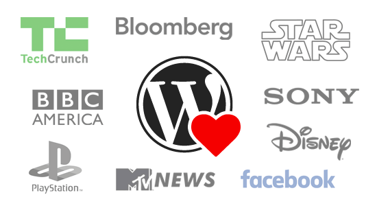 Marcas Top que usan Wordpress